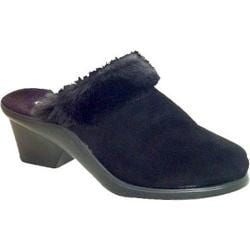 Women's Curvetures Kathy 606 Black Deerskin