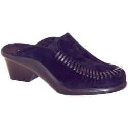 Women's Curvetures Bari 646 Black Suede