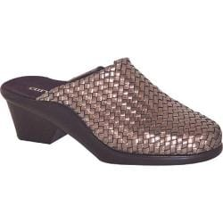 Women's Curvetures Sherri 611 Pewter Woven Nappa