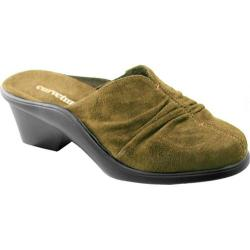 Women's Curvetures Tammi 719 Olive Suede