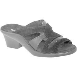 Women's Curvetures Vicki 755 Black Suede