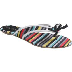 Women's Da Viccino Susan Black Stripe Silk