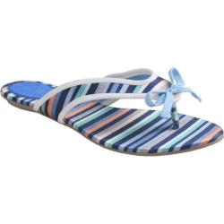 Women's Da Viccino Susan Blue Stripe Silk