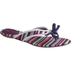 Women's Da Viccino Susan Purple Stripe Silk