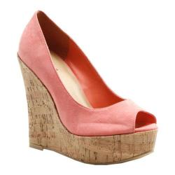 Women's Diba Red Rose Coral Suede