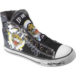Women's Ed Hardy Highrise Sneakers Black