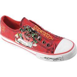 Women's Ed Hardy Lowrise Bangkok Sneakers Red
