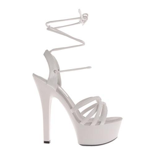 Women's Highest Heel Tess White Patent