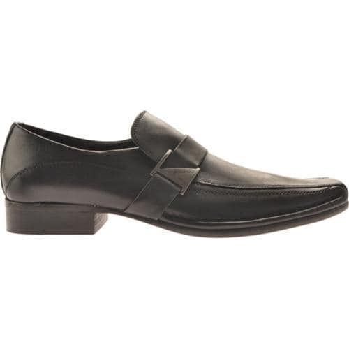 Men's Kenneth Cole New York Run Around Black Leather