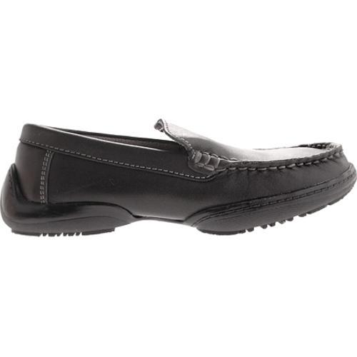 Boys' Kenneth Cole Reaction Driving Dime Black Leather