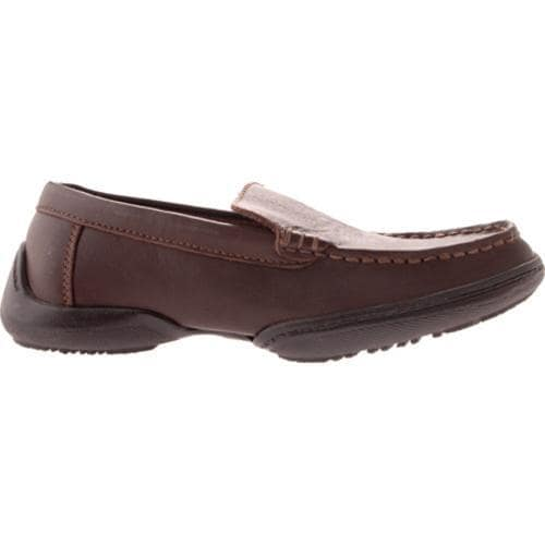 Boys' Kenneth Cole Reaction Driving Dime Dark Brown Leather