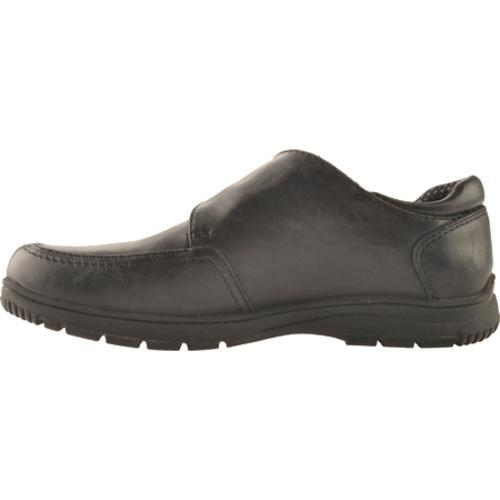 Boys' Kenneth Cole Reaction On Check Black Leather