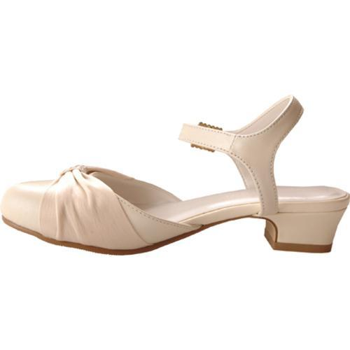 Girls Ivory Dress Shoes What a dress ivory leather