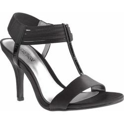 Women's Kenneth Cole Reaction Know Way Black Satin/Leather