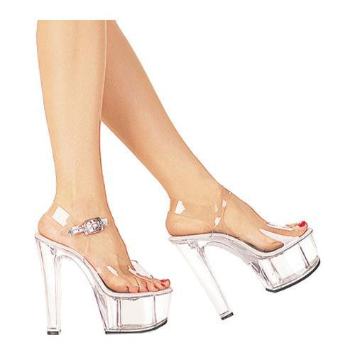 Women's Lucious Heartbeat-608 Clear/Clear