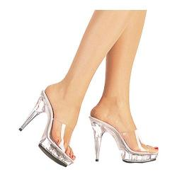 Women's Lucious Closeup-501 Clear/Clear