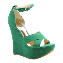 Women's Luichiny Not Enough Green Imi Suede