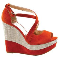 Women's Luichiny Swing N Orange Imi Suede