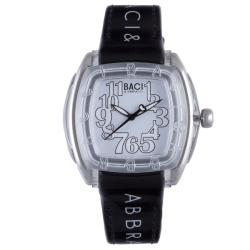 Baci Abbracci Women's Black Patent Leather Watch