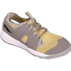 Women's Propet Adventure Light Grey/Pale Yellow