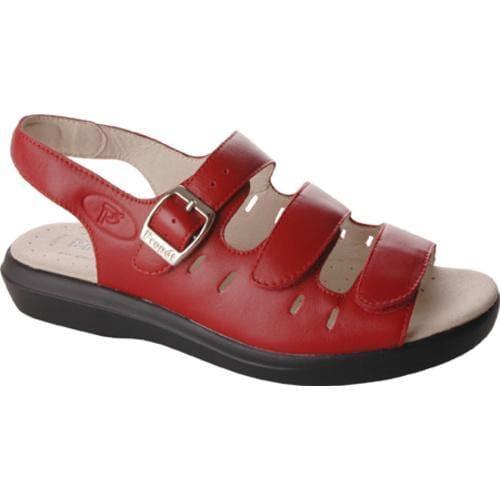 Women's Propet Breeze Walker Chili Red