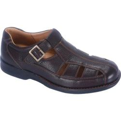 Men's Propet Malibu Bronco Brown Tumbled