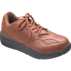 Men's Propet PedWalker 1 Nut Brown Leather