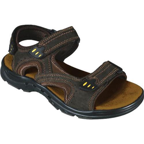 Men's Propet Rover Dark Brown/Rust