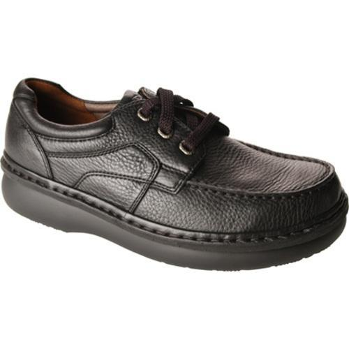 Men's Propet Rustic Walker Black Grain Leather