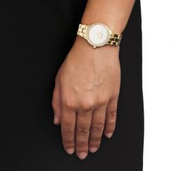 Monument Women's Goldtone Elegant Fashion Watch