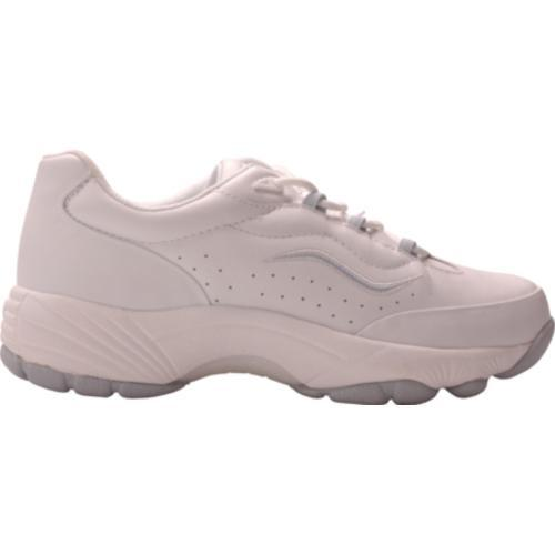 Women's Propet Tidewater Walker White/Blue Smooth