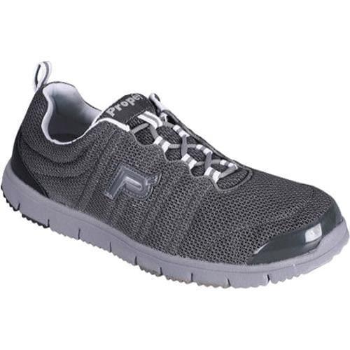 Men's Propet Travel Walker Charcoal Grey/Black