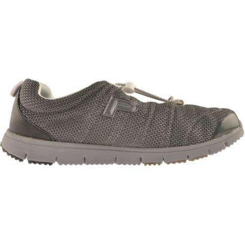 Men's Propet Travel Walker Charcoal Grey/Black