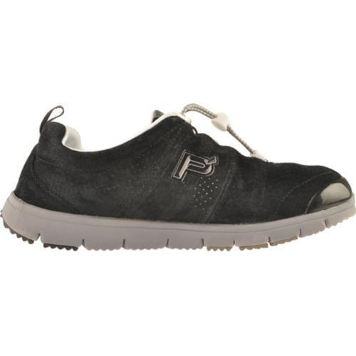 Men's Propet Travel Walker Suede Black