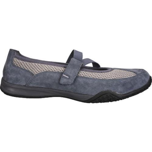 Women's Propet Zigzag Denim Blue/Pebble Grey