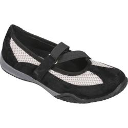 Women's Propet Zigzag Black/Pebble Grey