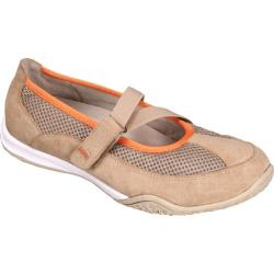 Women&#39;s Propet Zigzag Taupe/Orange
