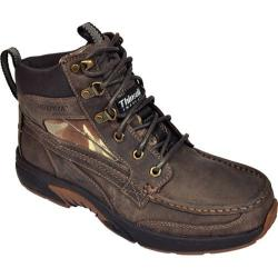 Men's Rugged Shark Corsair Dark Brown/Camo Leather
