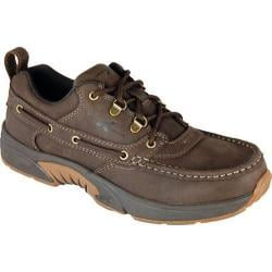 Men's Rugged Shark Courrier Low Mustang Brown Leather