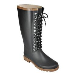Women's Rugged Shark Raindears Black Waterproof