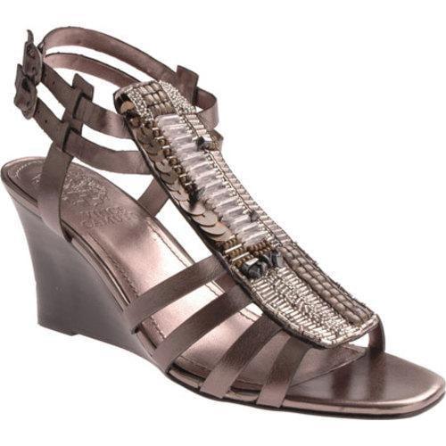 Women's Vince Camuto Brianne Gunmetal Metallic Leather