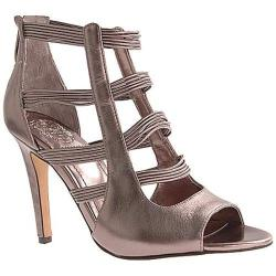 Women's Vince Camuto Selena Gunmetal Metallic Leather
