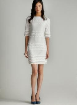 Donna Morgan Eyelash Sheath Dress