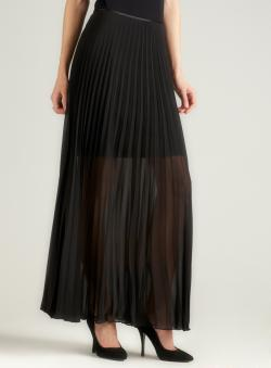 Marina Pleated Long Skirt