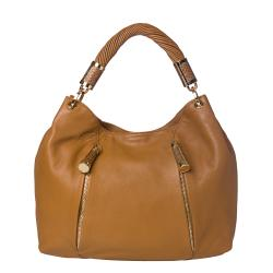 Michael Kors 'Tonne' Tan Leather Hobo Bag