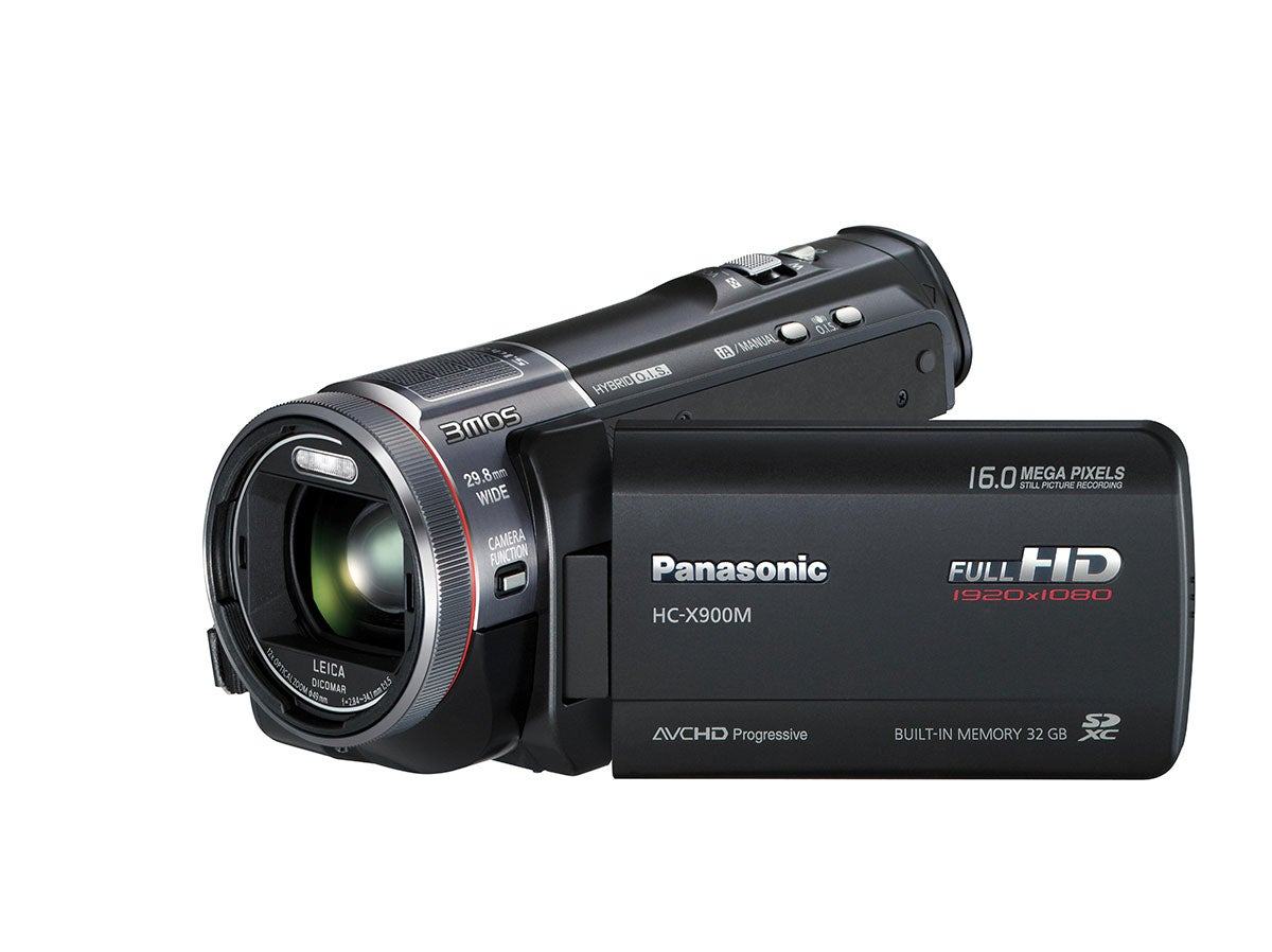 Panasonic 32GB HC-X900M 3D Ready Full HD Black Digital Camcorder