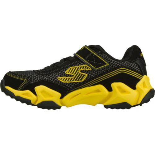 Boys' Skechers Air Tricks Fierce Flex Black/Yellow
