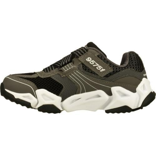 Boys' Skechers Air Tricks Fierce Flex Gravitron Gray/Black
