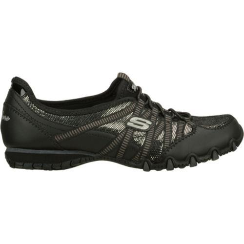 Women's Skechers Bikers Enchanted Black/Silver