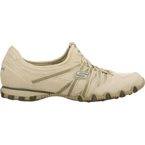 Women's Skechers Bikers Hot Ticket Natural/Olive